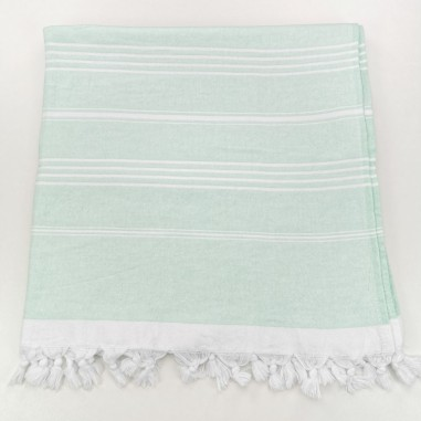 Terry Turkish towel mint
