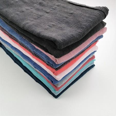 stonewashed micro stitched stonewashed towels wholesale