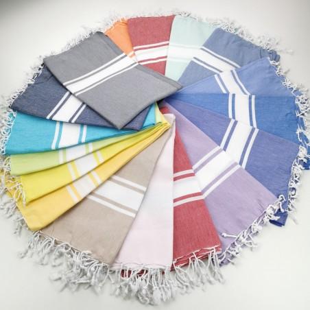 Turkish peshtemal towels classic Sea wholesale