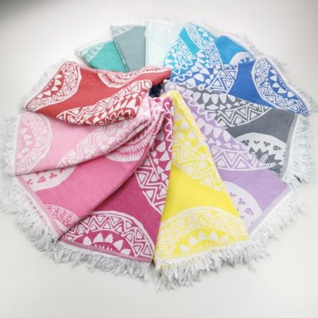 Jacquard Turkish towels Maya kilim wholesale