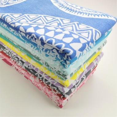 maya pattern turkish beach towels wholesale