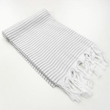 Turkish pareo towel Navy fine colored...