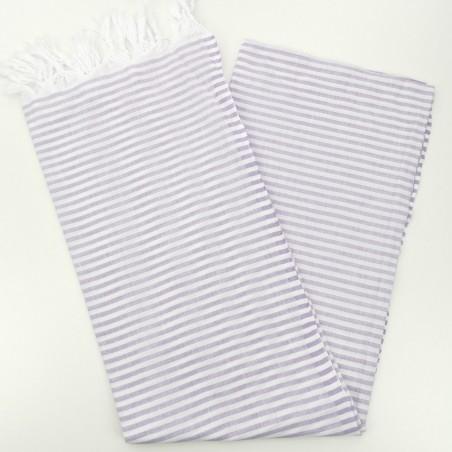 Turkish pareo towel lilac