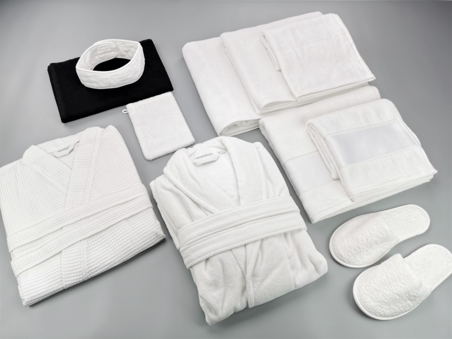 hotel bath linen and towels