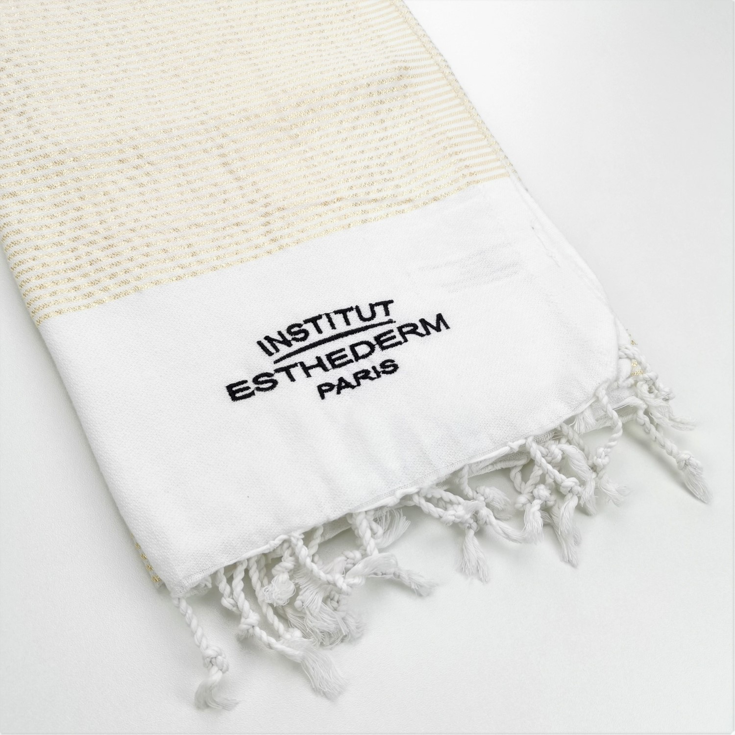fouta publicitaire brodee